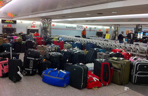 How to avoid losing your luggage