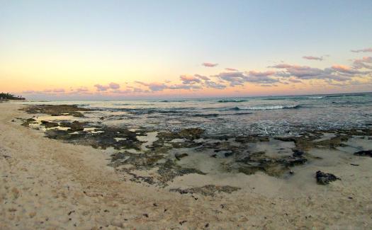 Beach on Riviera Maya (Image: Brittany Dietz)