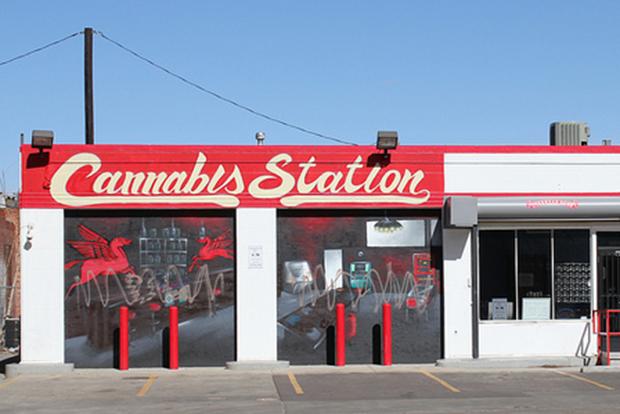 Marijuana storefront in Colorado
