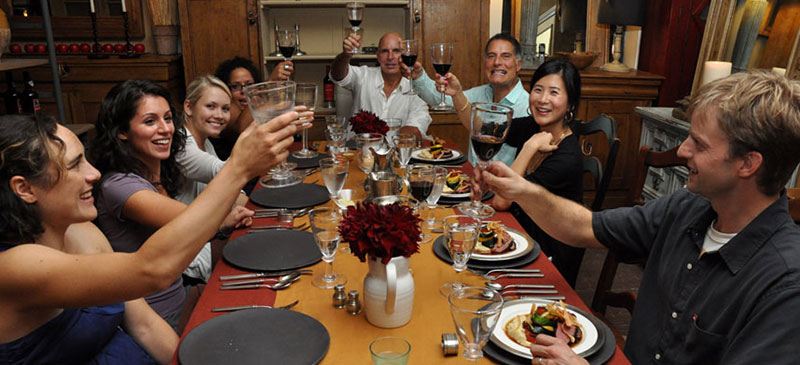 Peer-to-peer dining: Get a home-cooked meal anywhere in the world
