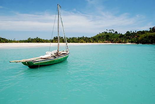 beach in Île-à-Vache, Haiti