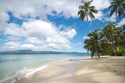 Qamea, Fiji beach