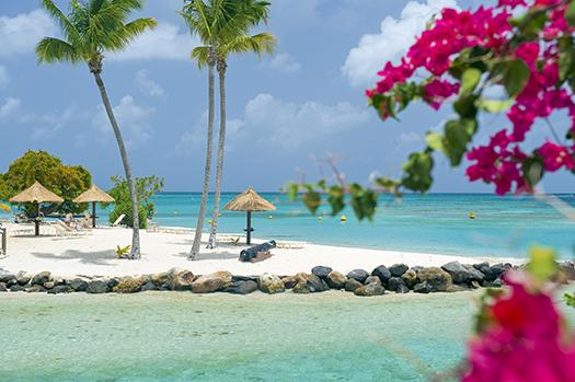 Martinique beach