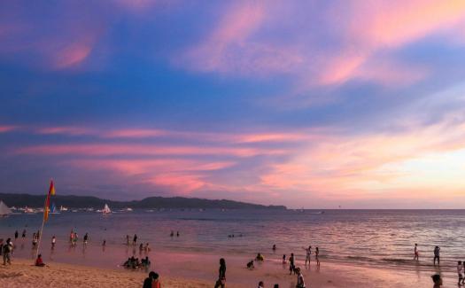 beach in Boracay, Philippines