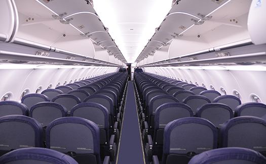 economy airline cabin seating