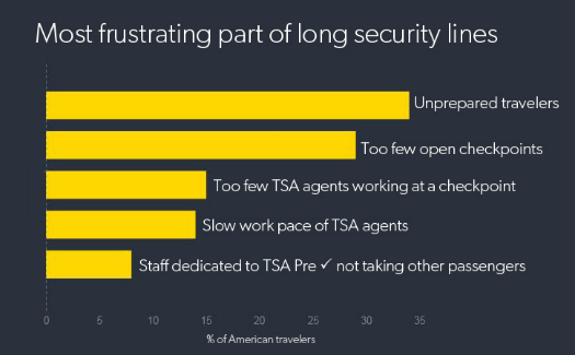 The waiting game: A survey of Americans airport security experiences 5