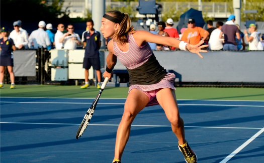 Steven Pisano, 2014 US Open (Tennis) - Tournament - Aleksandra Krunic via Flickr CC BY 2.0