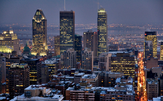Artur Staszewski, Montreal at night via Flickr CC BY-SA 2.0