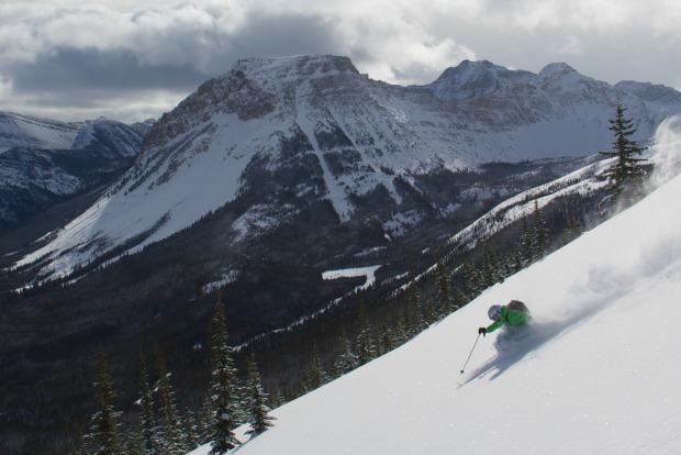 Castle Mountain ski resort