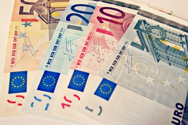 Images money, Euro Denominations via Flickr CC BY 2.0