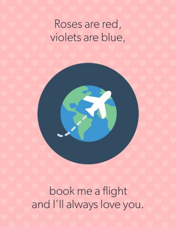 8 Valentine's Day cards only travelers will appreciate 1