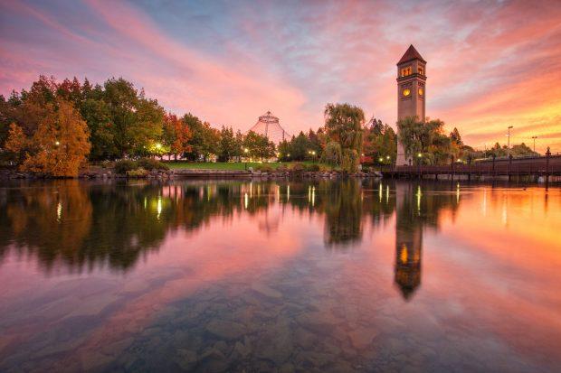 Spokane, Washington -Average airfare down 12%