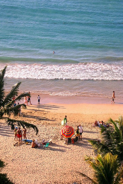 Beaches near airports in Puerto Rico
