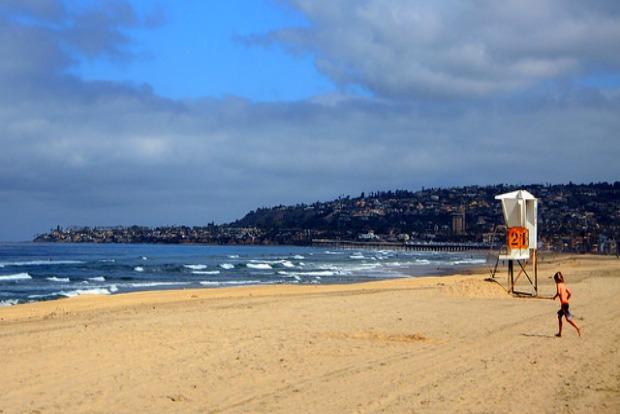 Beaches near San Diego International Airport