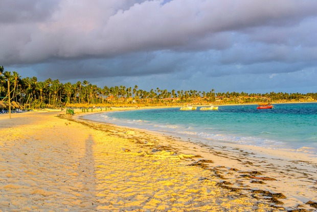 beach near Punta Cana airport