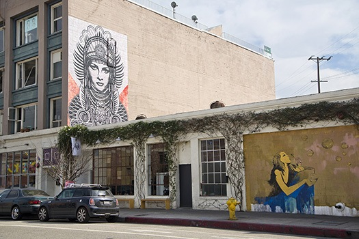 Street murals in Los Angeles