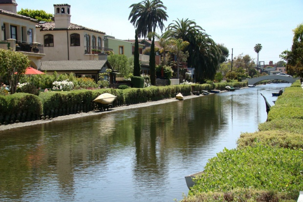 Venice, California canal