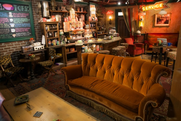 Central Perk on Friends set