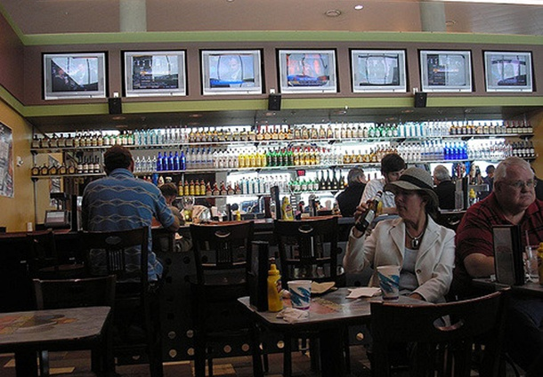 beer selection for sale at Tampa International Airport