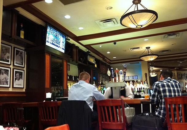 airport bar interior