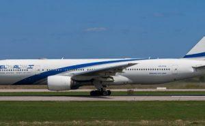 El Al airliner on runway