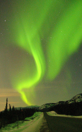 Seeing northern lights in Canada