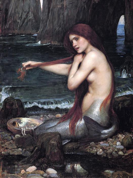 Mermaids © John William Waterhouse/Flickr user Playing Future [https://www.flickr.com/photos/centralasian/8500876416/]