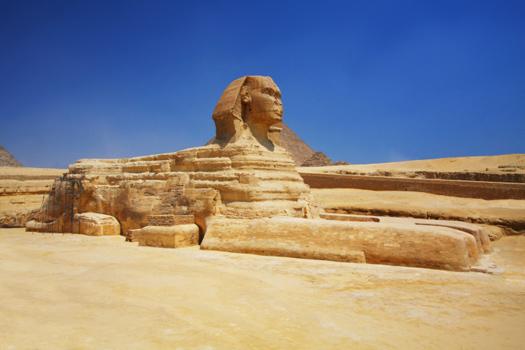 Sphinx © danbreckwoldt/iStock/Thinkstock [http://www.thinkstockphotos.co.uk/image/stock-photo-the-sphinx-in-egypt/467198823/]