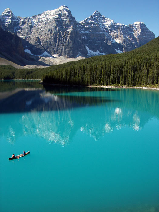 Moraine Lake, Banff National Park, Alberta, Canada. Photo by Pascal