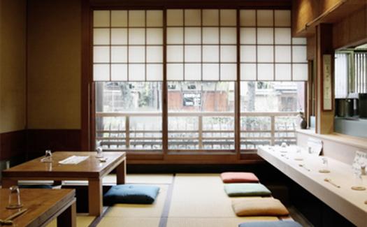 interior of Kappo Sakamoto restaurant