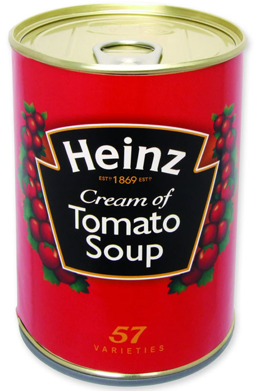 26 Unusual Travel Gifts: Tomato Soup SafeCan. Photo by sterlingshop.co.uk