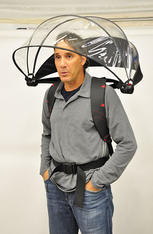 26 Unusual Travel Gifts: Nubrella. Photo by nubrella.com