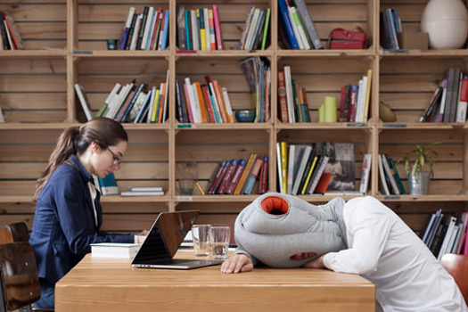26 Unusual Travel Gifts: Ostrich Pillow. Photo by ostrichpillow.com