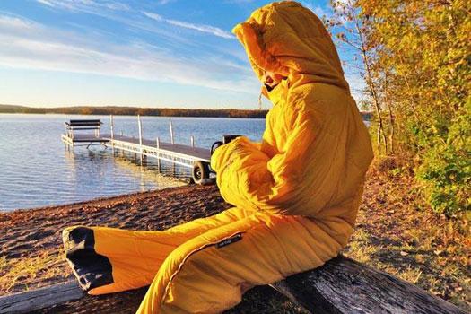 26 Unusual Travel Gifts: SelkBag Sleep and Walk Suit. Photo by selkbag.eu
