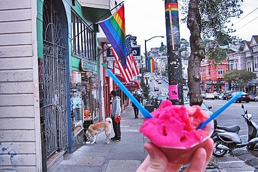 Gelato in San Francisco. Photo by Nick M