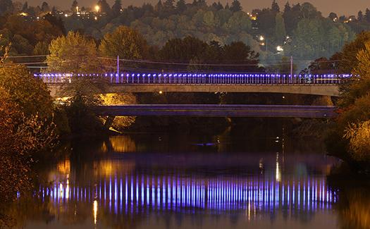 Duwamish Bridge, Seattle, Washington