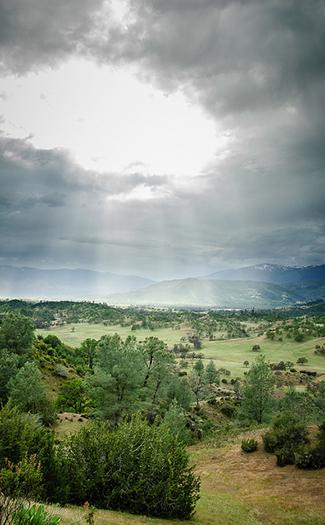 Gravelly Ridge, California