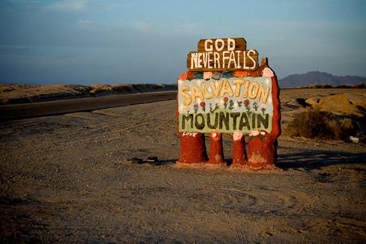 Salvation Mountain. Photo by Sholeh