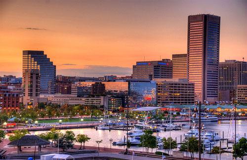 Baltimore Inner Harbor (Image: Randy Pertiet)