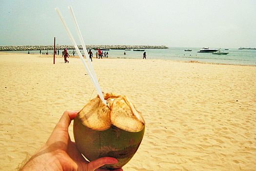 Coconut in Lagos. Photo by Nick M