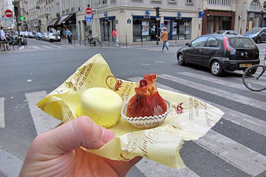 Tasty duo in Paris. Photo by Nick M