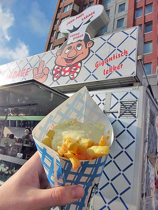 Hot chips in Rotterdam. Photo by Nick M