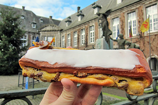 The second doughnut of dreams in Dinant. Photo by Nick M