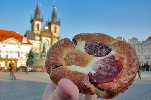 Fruity in Prague. Photo by Nick M