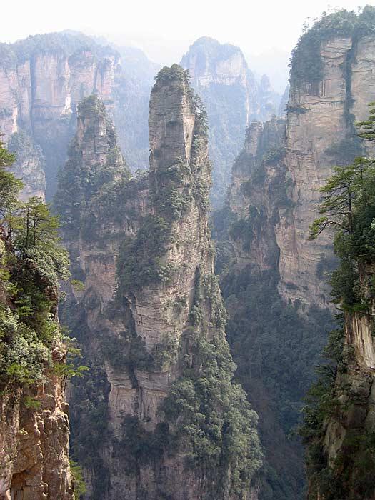 Zhangjiajie National Forest Park. Photo b Ken Marshall