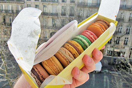 Parisienne macaron anyone? Photo by Nick M