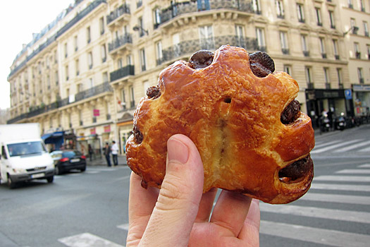 Perfect pastries in Paris. Photo by Nick M