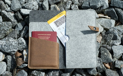 travel documents wallet