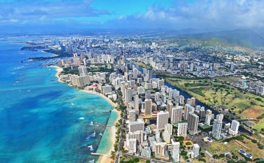 Waikiki, Honolulu Panorama