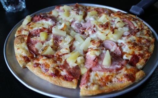 Hawaiian Pizza from Athena Pizza